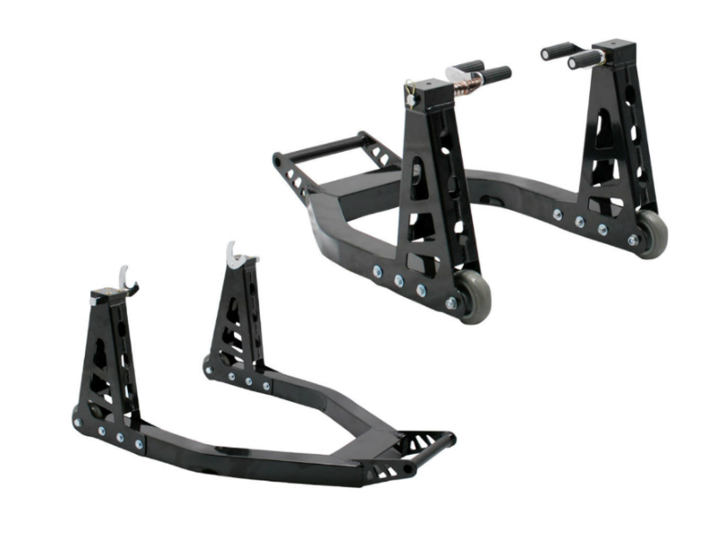 Pair of jumbo box paddock stands