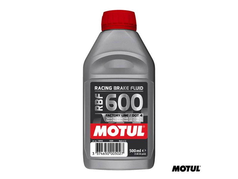 MOTUL RBF600 FACTORY LINE PERFORMANCE BRAKE FLUID - 500ml