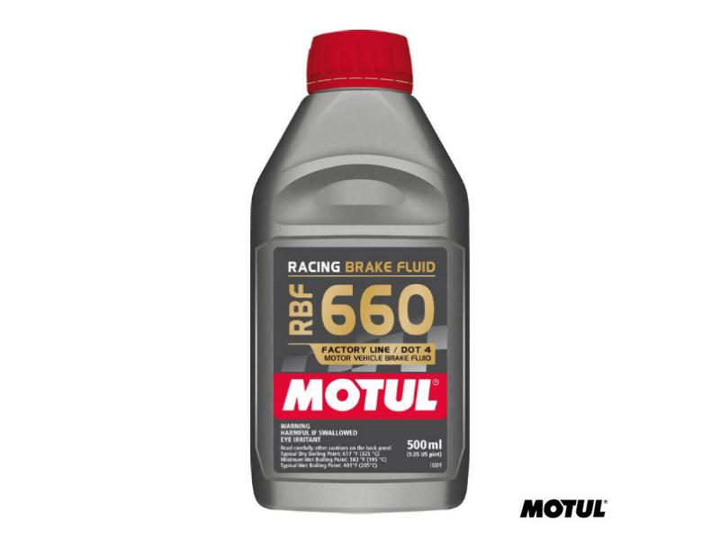 MOTUL RBF660 FACTORY LINE PERFORMANCE BRAKE FLUID - 500ml