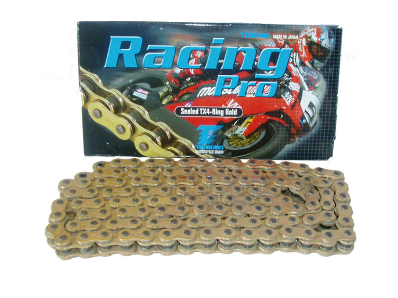 TSUBAKI 520 RACING PRO X RING GOLD RACE CHAIN