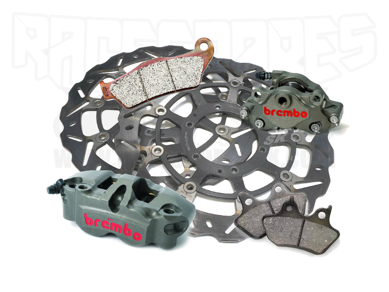 BRAKE LINES/ PADS / DISCS / CALIPERS