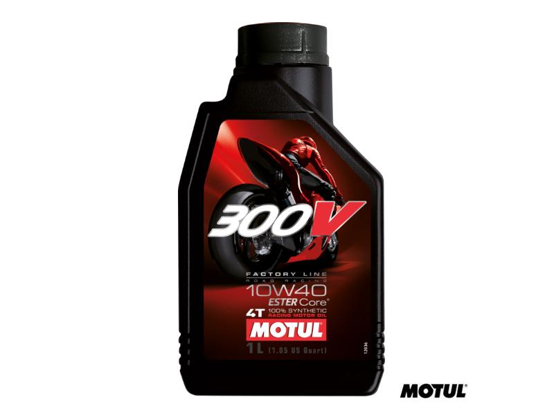MOTUL 300V 10/W40 SYNTHETIC OIL