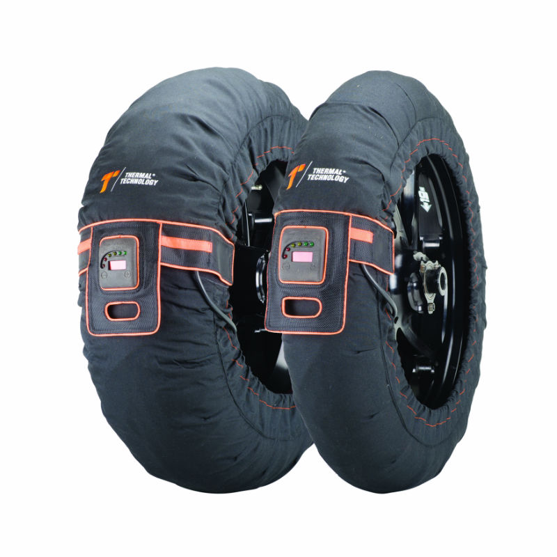 THERMAL TECHNOLOGIES EVO DUAL ZONE TYRE WARMERS