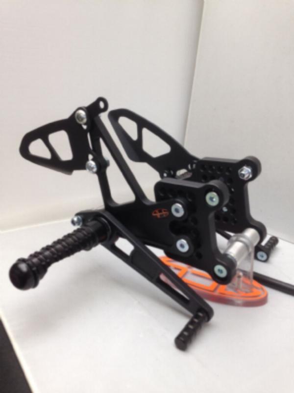 Adjustable Rearsets Kawasaki ZX10R 2011 2015