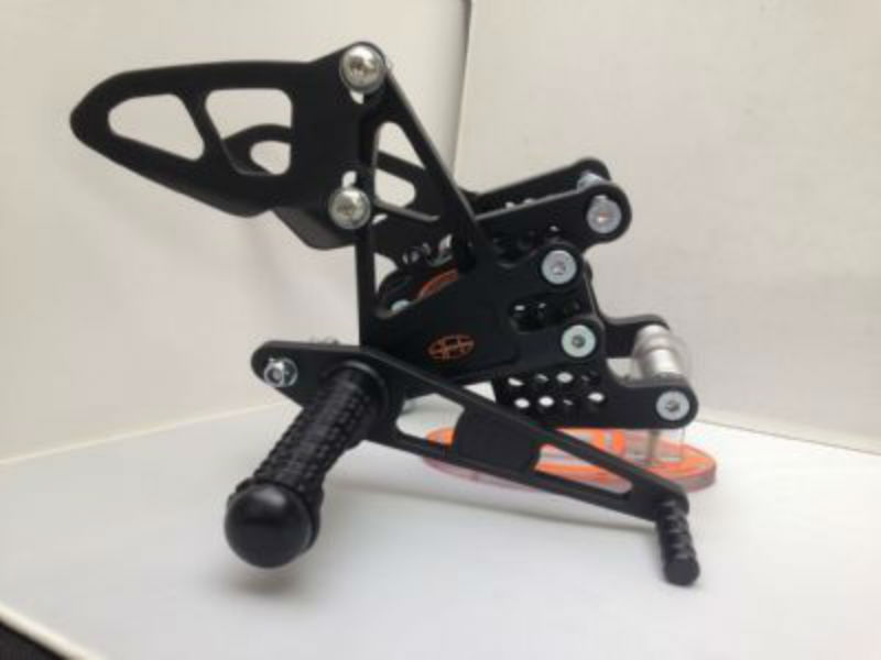 Adjustable Rearsets Kawasaki ZX6R