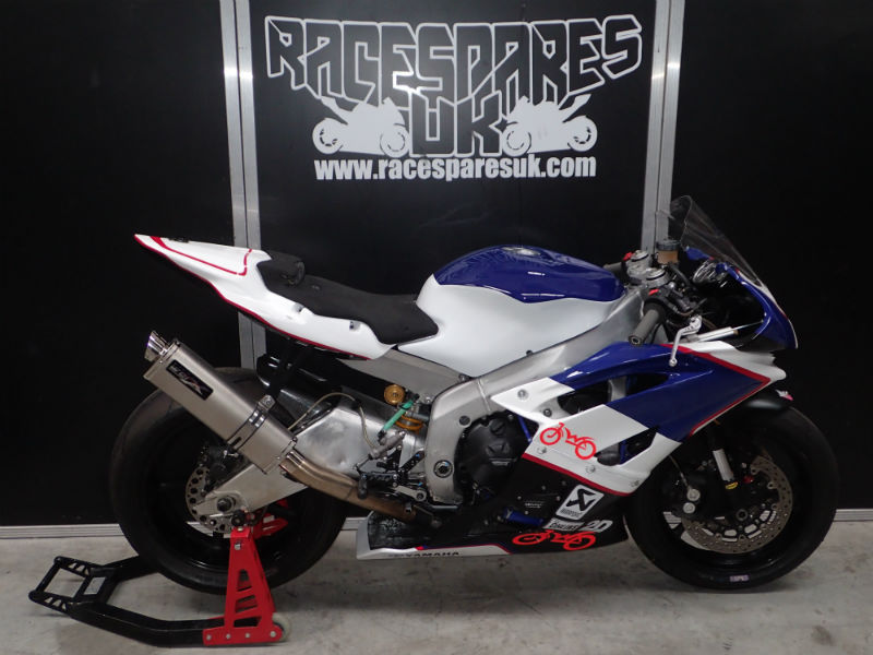 YAMAHA R6 TRACK RACE BIKE